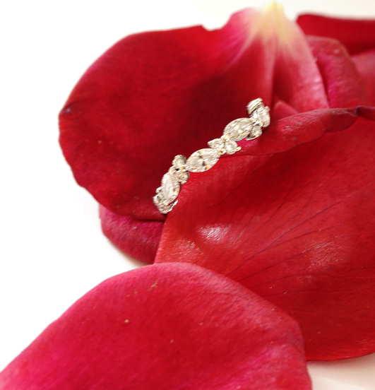 Alliance Complète Diamants Navette