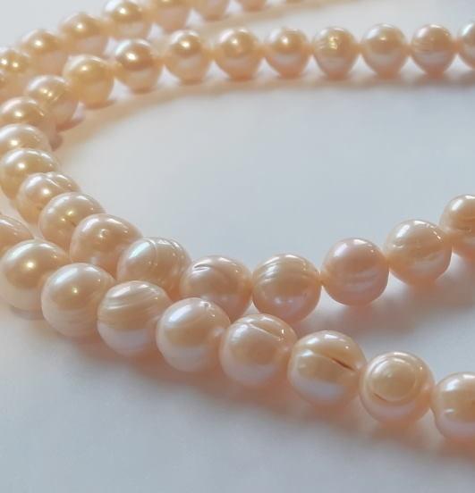 Sautoir Collier De Perles D'eau Douce